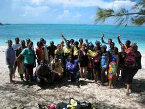 Remembering the IWCAM teacher workshop on the marine environment of Elizabeth Harbour. The EHCP would like to provide more programs like this to raise local awareness and appreciation of Exuma's most beautiful natural harbour.