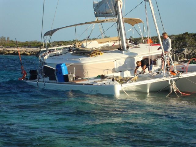 The boat was a total loss for the owners who depended on faulty charts to make their navigation decisions.