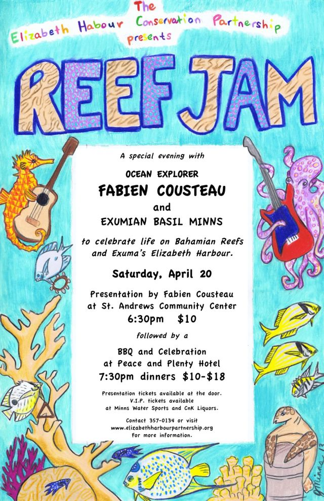 reef jam poster